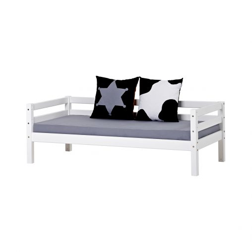 Hoppekids BASIC half high bed 70×190 cm, White, White