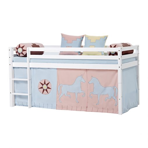 Curtain for halfhigh and bunk beds, 90×200 cm, Indian Girl