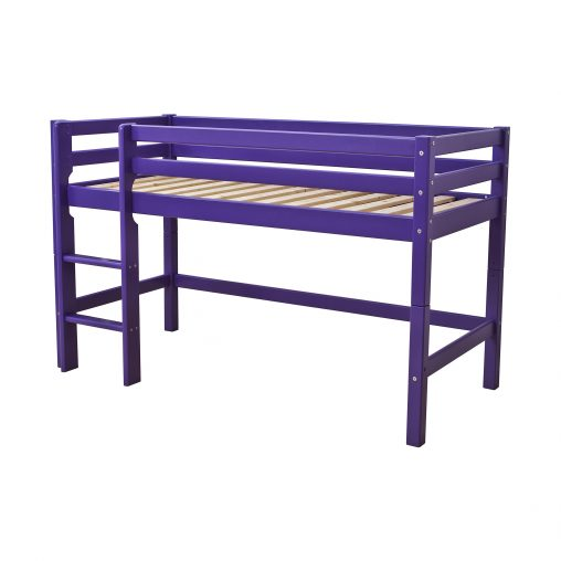 Hoppekids BASIC My Color half high bed, Classic Purple