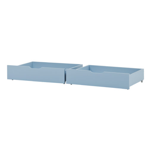 Drawer set on wheels 2 pcs. For 70 x 160, Dream Blue