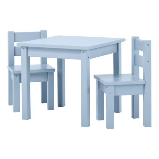 BUNDLE MADS Table and two Chairs – Dream Blue, Dream Blue