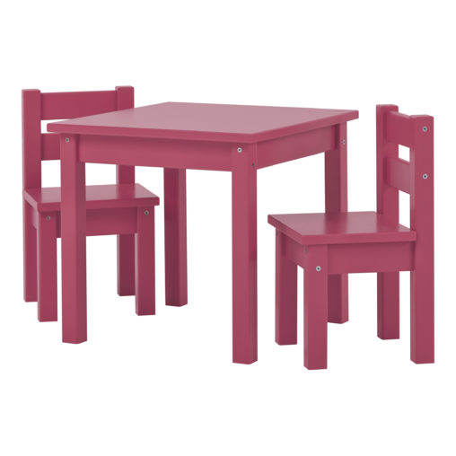BUNDLE MADS Table and two Chairs – Baroque Rose, Baroque Rose