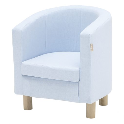 Hoppekids cover for Club chair, Baby Blue