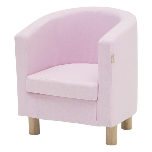 Hoppekids cover for Club chair, Baby Pink