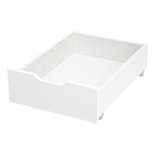 Hoppekids Drawer on Wheels, White