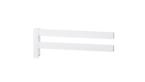 BASIC Bed rail 3/4, White