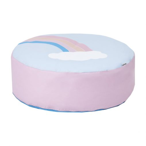 Hoppekids Bean bag, Blue/Pink