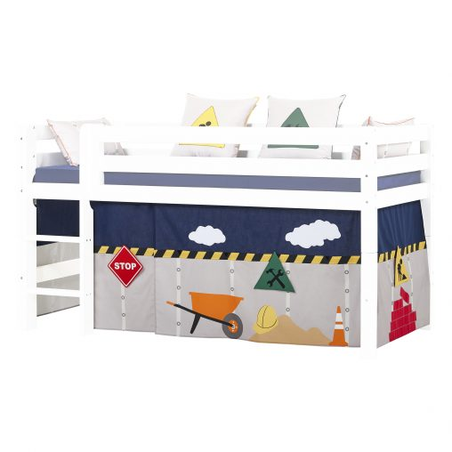 Curtain for halfhigh and bunk beds, 90×200 cm, Construction