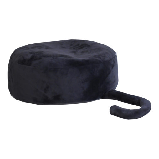 Hoppekids PETS Sitting Sack / Bean Bag, Strech Limo Black