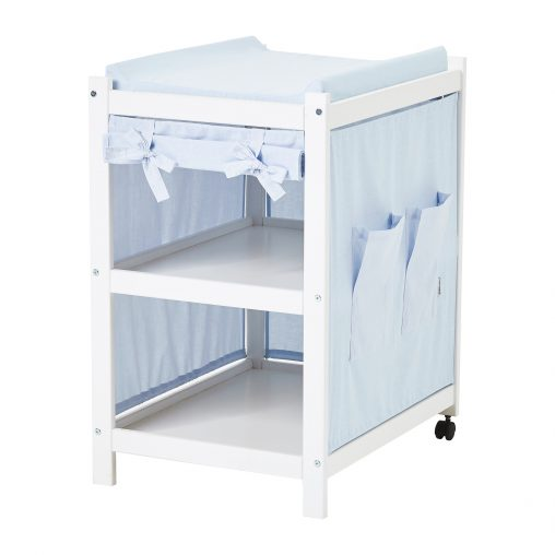 Hoppekids Curtain for IDA-MARIE Dressing table, Baby blue, Baby blue