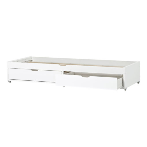 Hoppekids 70×190 cm Pull out bed for DELUXE-beds, White, 70x190 cm, white