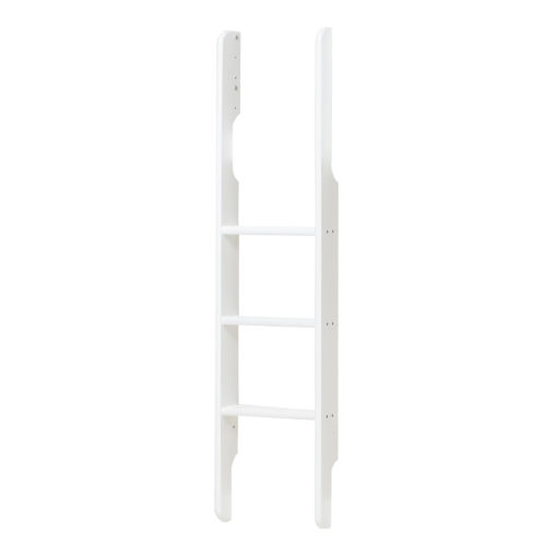 Ladder for bunk bed with extra height, White