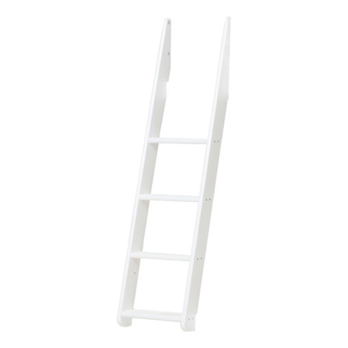 Slant ladder for family bunkbed, White