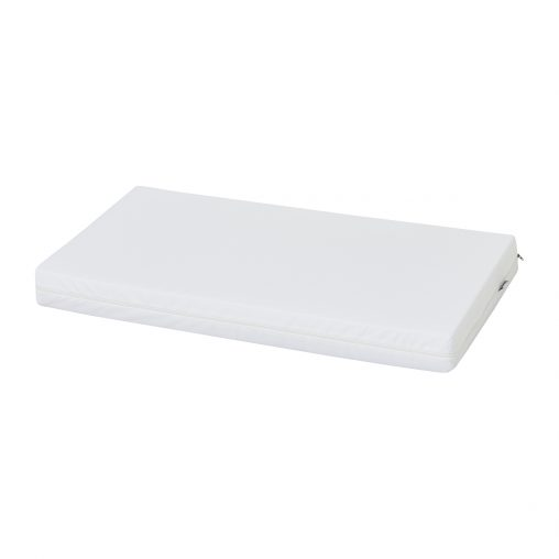 Hoppekids flax mattress incl. cover, White