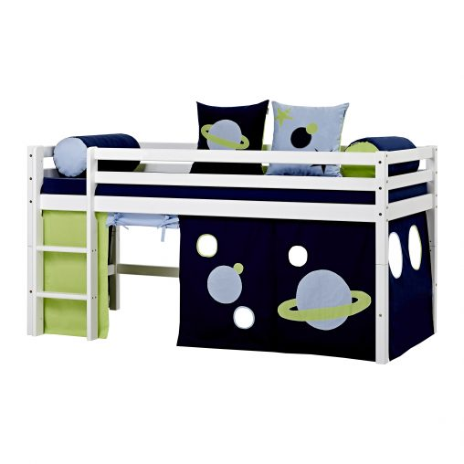 Curtain for halfhigh and bunk beds, 90×200 cm, Space