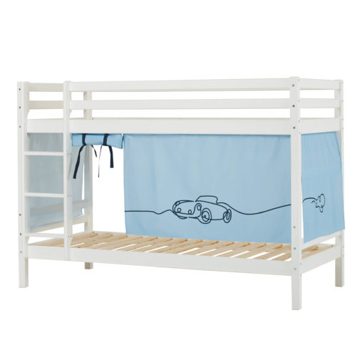 BUNDLE Basic Bunkbed  Non-Dividable with Cars curtain,