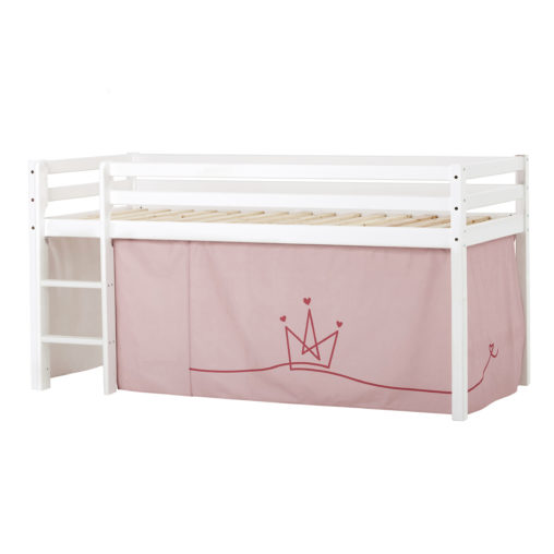 BUNDLE Basic Halfhigh bed  Non-Dividable with Princess curtain,