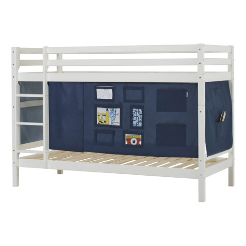 BUNDLE Basic Bunkbed  with Creator Orion Blue curtain, Orion Blue