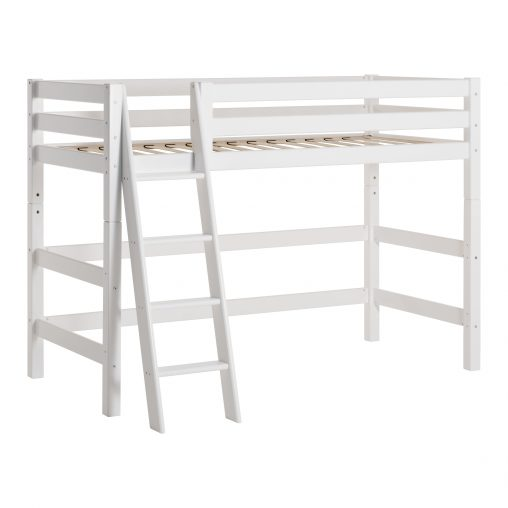 Hoppekids PREMIUM mid high bed, White